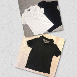 2 banana republic 1 express shirts short sleeve